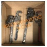 4-Pipe wrenches