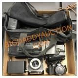 VHS camera & accessories