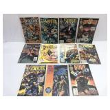 5Assorted comics Malibu lot of 11