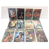 Assorted comics lot of 12 vampire