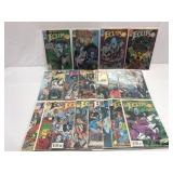 Assorted comics DC Eclipso lot of 1-18