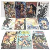 Assorted comics lot of 11