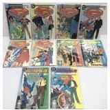 Assorted comics lot of 10 DC Superman