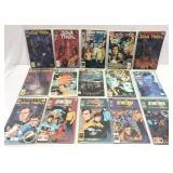 Assorted comics lot of 15 Star Trek