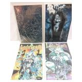 Lady Death lot of 4 comic cover variants