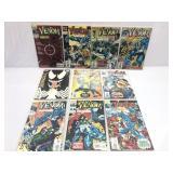 Assorted comics Marvel Venom lot of 10