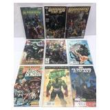 Assorted comics lot of 9 Marvel