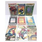 Assorted comics lot of 9 Spider-Man comics