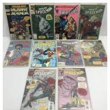 Assorted comics lot of 10 Spider-Man