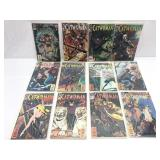 Assorted comics lot of 12 DC Catwoman series 1-12