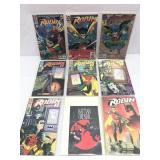 Assorted comics lot of 9 DC