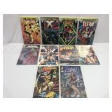 Assorted comics lot of 10