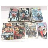 Assorted comics lot of 64 Star Trek series 1-66
