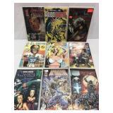 Assorted comics lot of 9