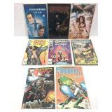 Assorted comics lot of 8