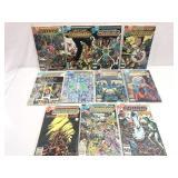 Assorted comics lot of 11 DC Crisis on infinite