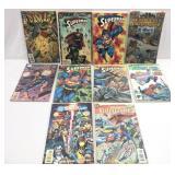 Assorted comics lot of 10 Superman