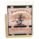 Winchester Firearms Sign Reproduction
