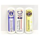 3-Advertisement Thermometers