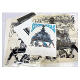 1980s K-Studio T-Shirt Stencils & Sample-