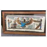 Egyptian Wall Art Framed 38x198