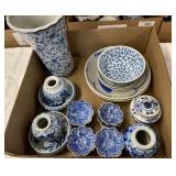 Blue China & Decor