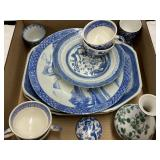 Assorted Blue China