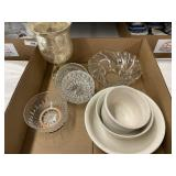 Assorted Glass & China