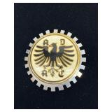 Vintage ADAC German Autoclub Badge