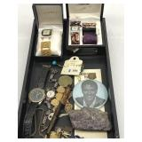 Watches, Amethyst, Parker Pen & Collectibles