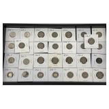 Assorted Nickels: 10-Proofs, 4-Wartime & 16-1930-