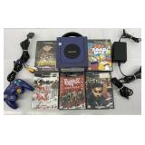 Nintendo Game Cube w/5-Games WORKS