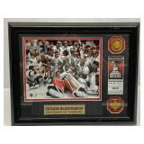 Chicago Blackhawks 2019 Champions Plaque