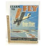 Curtis-Wright Flying Service Sign (repro)