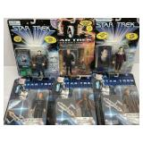 6-Star Trek Figures