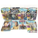5-Star Trek Figures & 3-Books