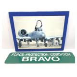 A-10 Warthog Picture w/Bravo Sign