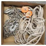 Chain & Rope Pulley