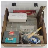 Storage Containers, Fasteners & More