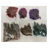 6-Kinds of Feathers for Crafts by Sbyure