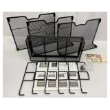 Metal Desk Organizer (all pieces present needs to