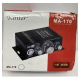 Kinter Car Audio 2-Channel Mini Amplifier