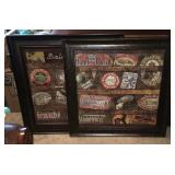 (2) Wall Art & Picture Frame