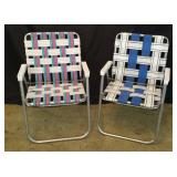 (2) Lawn Chairs
