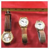 (3) Vintage Watches
