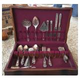 Utensils w/ Case (some sterling silver)