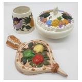 Ceramics lot.