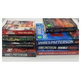 Lot of James Patterson books.
