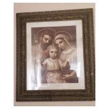 Antique Holey family large photo.