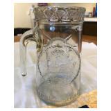 Statue of Liberty Centennial glass mug 1886 -